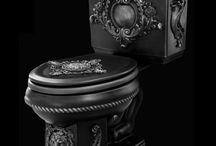 Baroque toilet