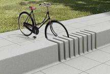 Arredo piazze / Panchine - bici - fontane -