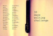 Challenges/Prompts