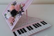 Card piano cards