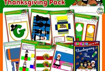 THANKSGIVING# TEACHING RESOURCES / #THANKSGIVING FUN PACK - AVAILABLE HERE - http://eslchallenge.weebly.com/thanksgiving-fun.html