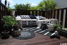 Terrasse / Klein aber oho - Ideen für unsere neue Terrasse