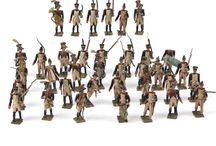 Leaded toy soldiers