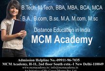 Open Learning education in India / MCM Academy is the best distance group of education in India. It is offering all kinds of distance education in cheap rate for all professional personal. Distance courses in India. Call Now: +919999-13-7074.9999380958. More information visit: - http://mcmacademy.in/