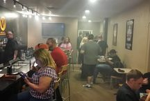 Vape Dad Release Part at ecaVape1 vapor lounge / We have ModHead Mondays every other Monday, as well as launch party for new e-liquid juice lines.