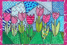 grade two art