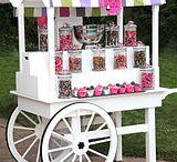 Тележка для сладостей