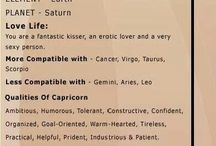 Capricorn / Some statements about Capricorn that I consider to be true. :)