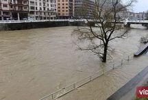 Inundaciones / Lugares inundados por lluvias torrenciales o crecidas de ríos