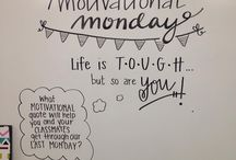 Motivational quotes for evryone / Hey guys, this is wall with motivational quotes for evryone so I hope that after their reading you have a good mood ♡