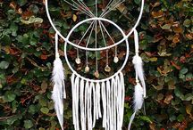 dreamcathers / dreamcathers, crystals, feathers, everything which is bohemian