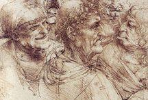 desene, crochiuri , grafica, gravuri, pasteluri & colaje / by Johann Cosman