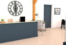 Projet d'aménagement Salle de dégustation Artago