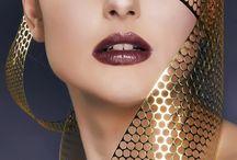 Stunning makeup / Stunning makeup and short hair extraordinaire