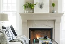 Mantels + Fireplaces