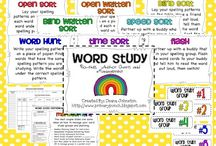 Words Their Way/ Spelling / by Sister Teachers