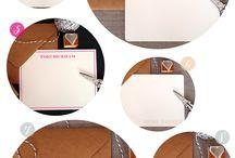 Custom Personalized Letterpress Note Cards | Sunlit Letterpress / Customize/personalize your own letterpress note cards - designed and printed in Vancouver Canada by Sunlit Letterpress.