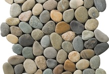 TILE - PEBBLES & ROCKS / Pebbles and Rock Tiles available thru Northwest Building Supply