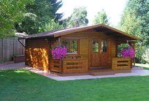 case giardino in legno