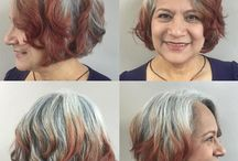 To bob or not to bob / Messy bob with fringe