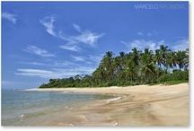 Praias Ilhéus, Brazil, Bahia / Percorrendo o Litoral Brasileiro a pé.