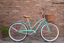 bici verde agua vintage