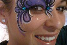 malovanie tváre