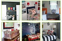 Boys bedroom / by Lindsay