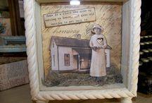 ART: Shadowbox, diorama and Art box