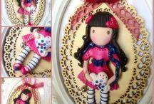 Dolls / Bamboline, fate, elfi, gnomi di Natasha Handmade Creations Style