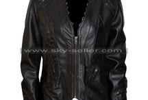 Melissa O'Neil Dark Matter Black Jacket / Get this Dark Matter Two Black Leather Jacket at most discounted price from Sky-seller.com and avail free Shipping.