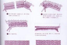 Knit symbol