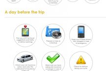 Road Trip Check List / Road trip checklist