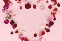 love Hearts pink red white