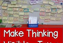 Making Thinking Visible in the Classroom / Using Harvard's Project Zero as my inspiration, I wanted to create a place to collect ideas and to share and collaborate with my teacher friends.