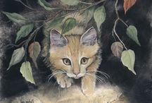 Peintre (Lyn Estall) / Animalier