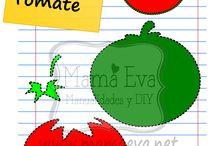 plantilla fruta