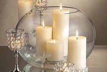 candle center pieces