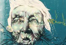 Street Art / Muestras de arte urbano