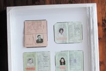 Framed passport ideas