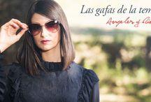 Campaña Otoño/Invierno 2016-17 / Presentamos las gafas que más se van a llevar esta temporada otoño/invierno con la blogger de moda Ángeles Madrid de ÁNGELES Y DIABLILLOS