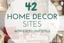 Home Decor Shopping / Home decor shopping ideas and tips