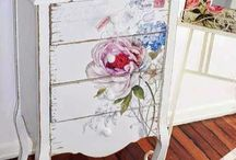 furniture decoupage / furniture decoupage