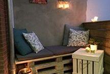 Paletten-Möbel
