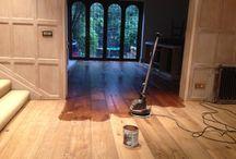 Wood Flooring in restaurant / Bespoke wood flooring laid in restaurant.