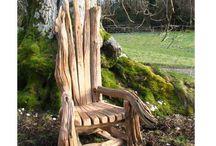 drift wood meubels