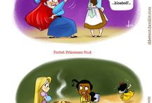 Pocket Princesses / by K Parks