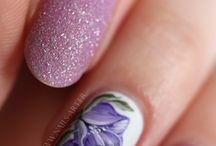 Nailart: Hand-Painted Florals (other than one-stroke) / by Marie Palazzo