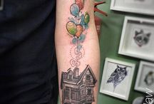 Up Movie Tattoo