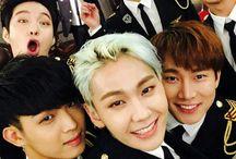 Btob / Members; Seo Eunkwang, Yook Sungjae, Jung Ilhoon, Lee Minhyuk, Lee Changsub, Peniel Shin, Im Hyunsik.  Bias: Hyunsik.